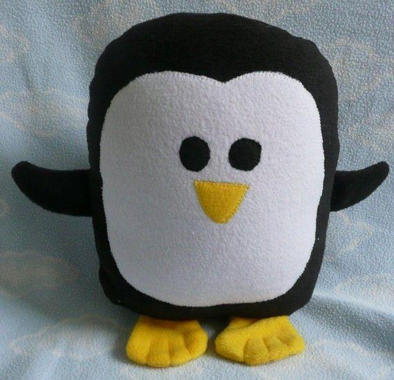 plush-black-penguin-