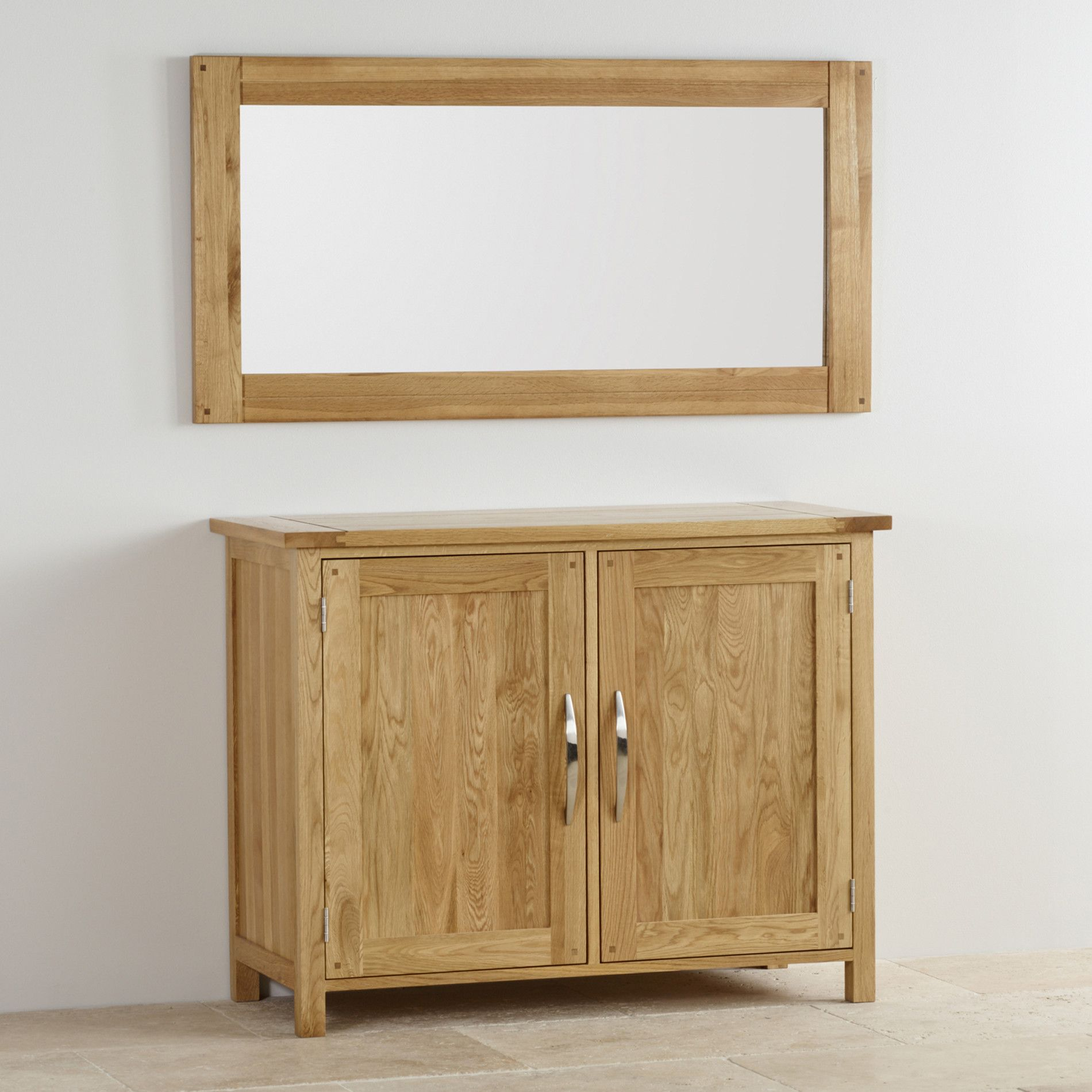 Newark natural solid oak 1200mm x 600mm wall mirror solid oak newark natural solid oak 1200mm x 600mm wall mirror solid oakconsole tableswall mirrorsnaturalfurniture geotapseo Choice Image