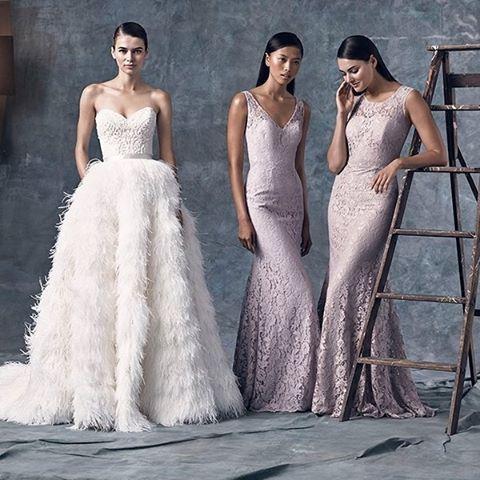 Lush, lavendar and lovely in @watterswtoo bridal and bridesmaids! Major heart throb for these gowns. #Watters #WToo #bridesmaids #bridalgown #weddingdress #bridaldress #maidofhonor #purplebridesmaids #purplewedding #bridalparty #bridaldesigner #bridalstyl