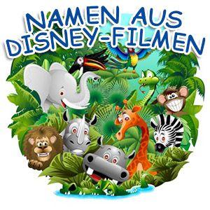 Namen aus Disney Filmen
