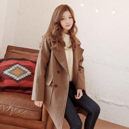 Womens Clothing Store [VANILLAMINT] Blom Coat / Size : FREE / Price : 90.94 USD #dailyllook #dailyfashion #fashionitem #outer #outwear #coat #jacket #ootd #vanillamint http://en.vanillamint.net/