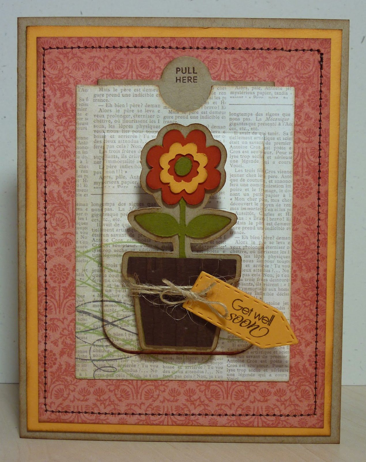 Crafting with katie slider get well card with video cards