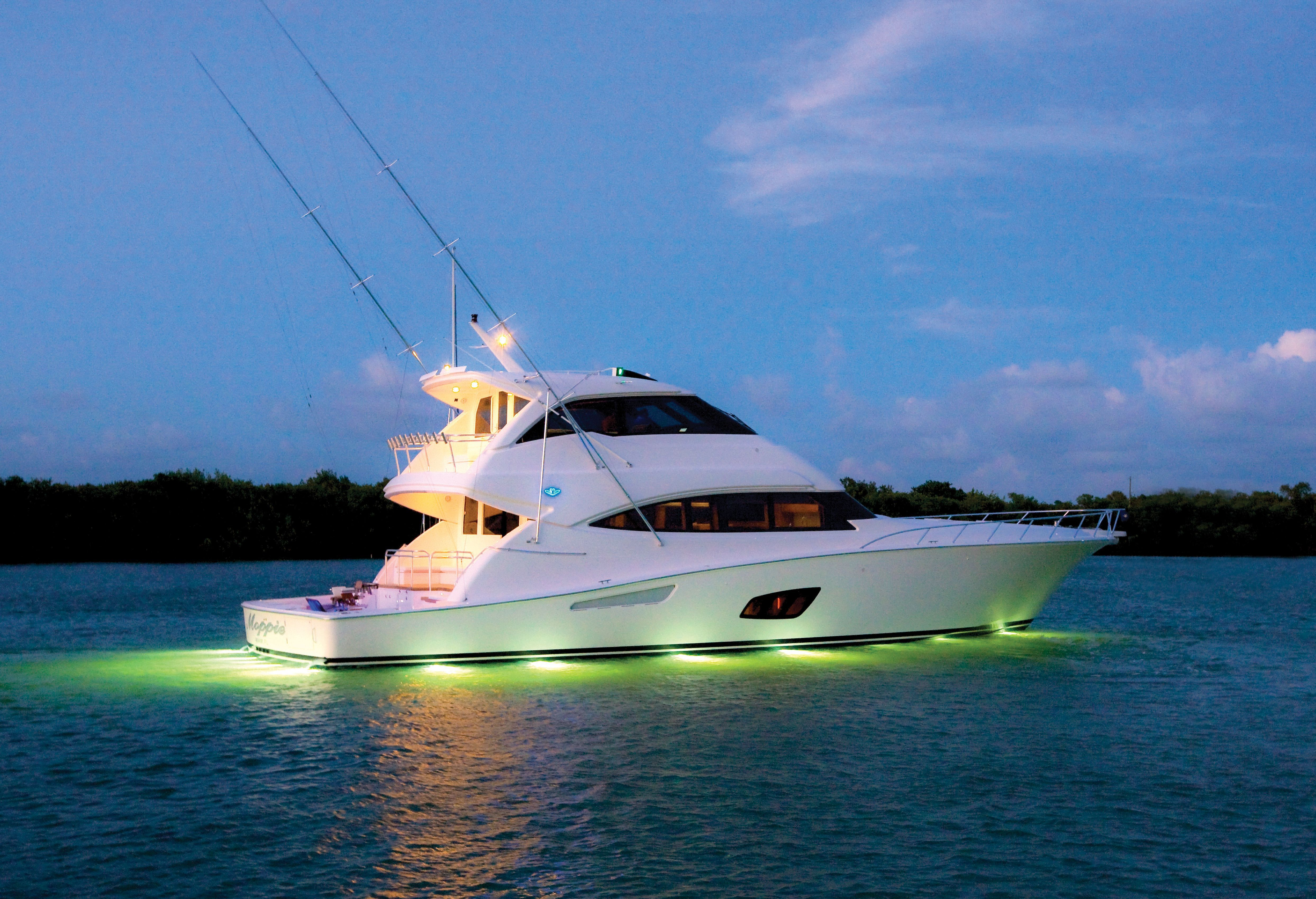 Bertram 80 Luxury Sportfishing Yacht