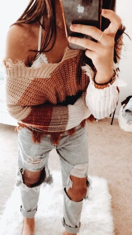 Outfit Inspiration: Cozy + Cute #sweaterweather