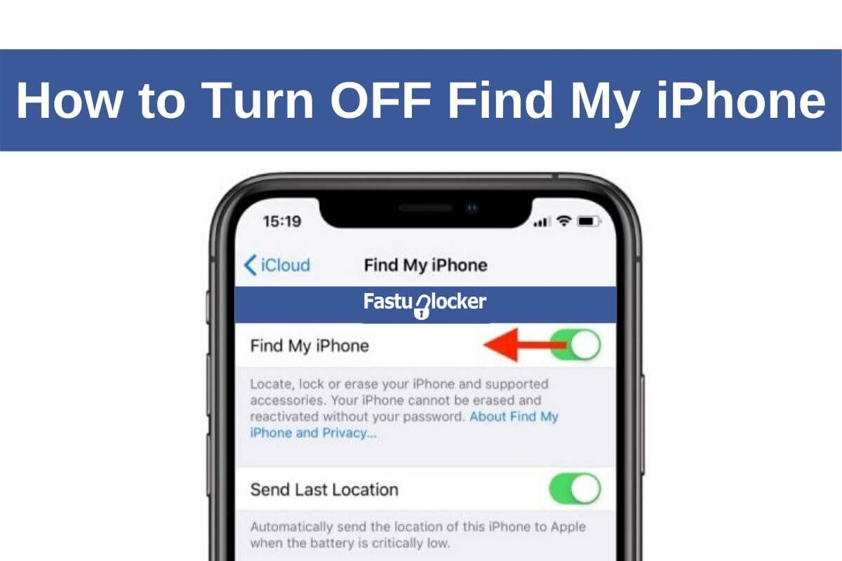 How To Turn Off Find My Iphone Click Here To Unlock Icloud Lock How To Disable Find My Iphone How To Turn Off Find My Iphone With In 2020 Unlock Iphone