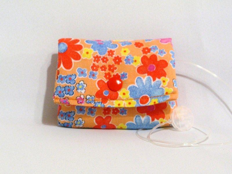 Insulin Pump Case Insulinpumpentasche für kleine Mädchen und Frauen die gern Farbe bekennen. Für die kleinste Pumpe mit den Maßen 7,6 x 5,0 x 2,0
