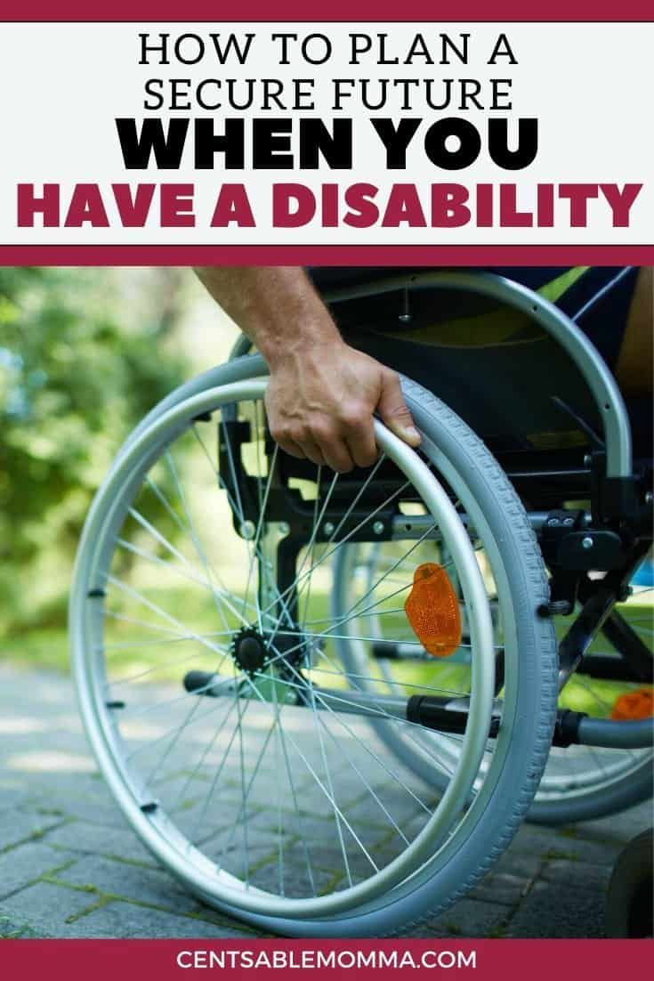 How to plan a secure future when you have a disability