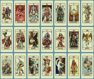 Ogre Battle Tarot Cards | Favorite video games | Tarot cards