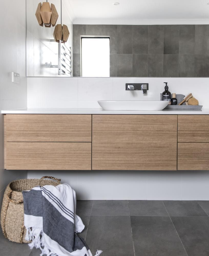 This Idea With Drawers On Either Side Of Sink So Under Sink Part Can Hold Plumbing