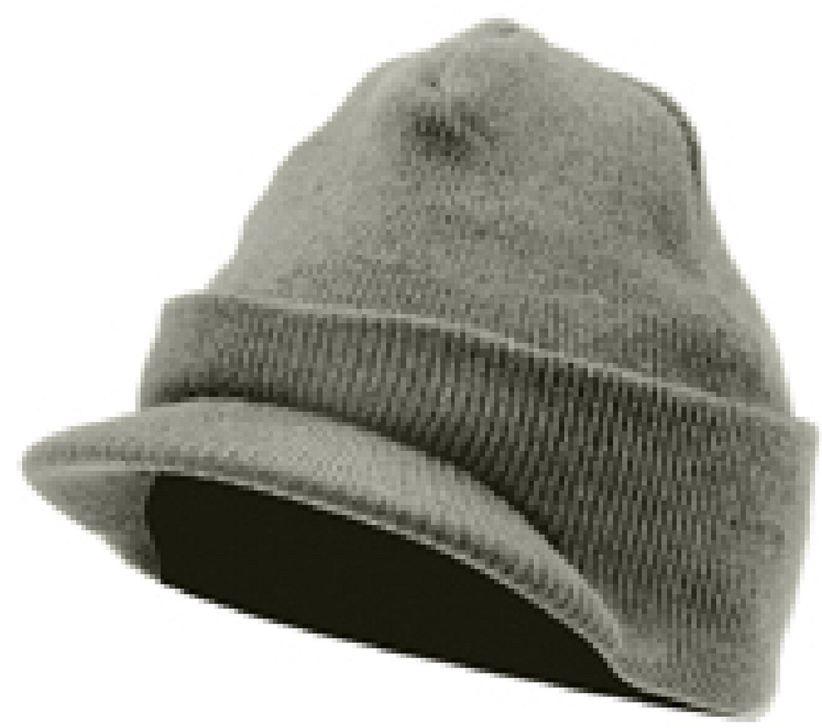 8dec1d6b Winter Deluxe Jeep Hat Hats w/ Brim Visor Acrylic Beanie Watch Cap Covers  Ears