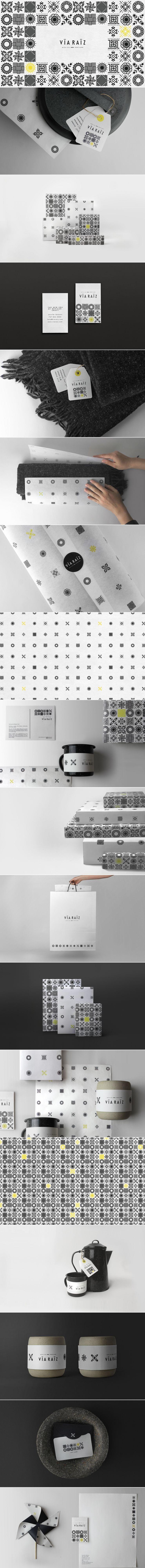 Via Raiz Modern Mexican Craft Design Store Brand Identity By Toro