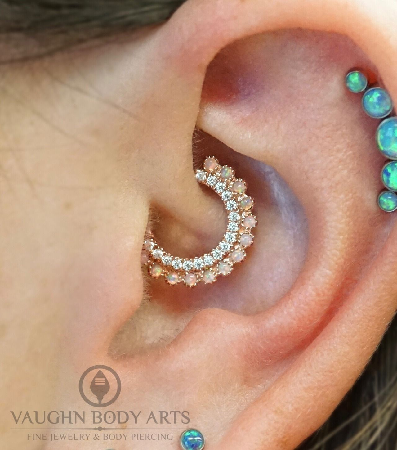 Nose piercing chart  vaughnbodyarts ucWell hello there fancy ear Our awesome client