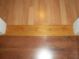 Go In Two Different Directions Laminate Flooring Two Rooms Meet