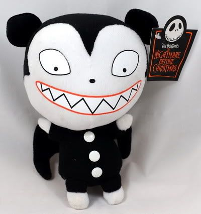 Details about Vampire Teddy Nightmare before Christmas Plush Doll ...