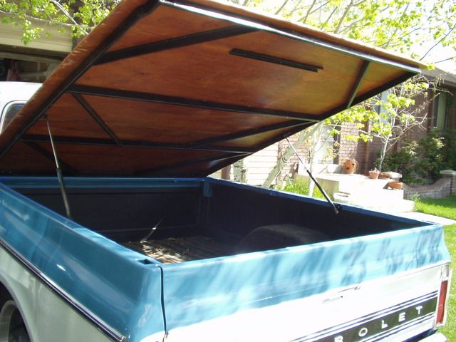 Homemade Tonneau Cover The 1947 Present Chevrolet Gmc Truck