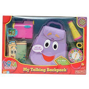 Dora My Talking Backpack Dora Dora The Explorer Fisher Price Baby