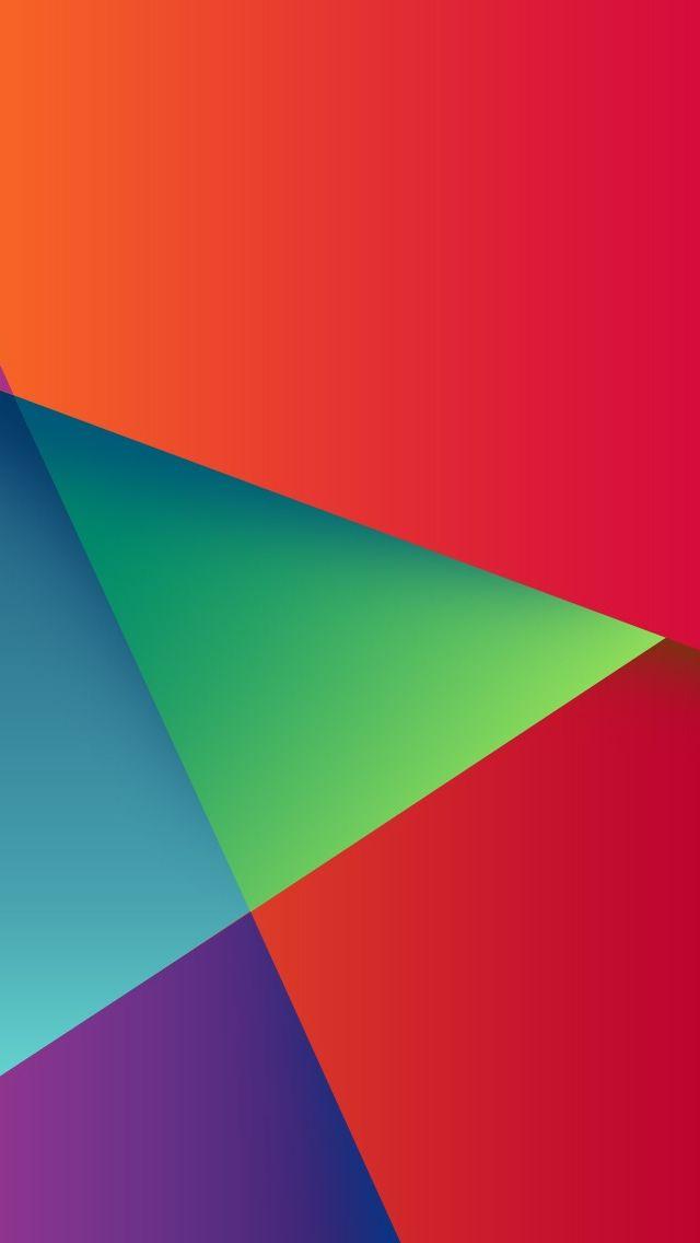 Geometric Colorful Triangle Match Iphone Wallpapers Geometric