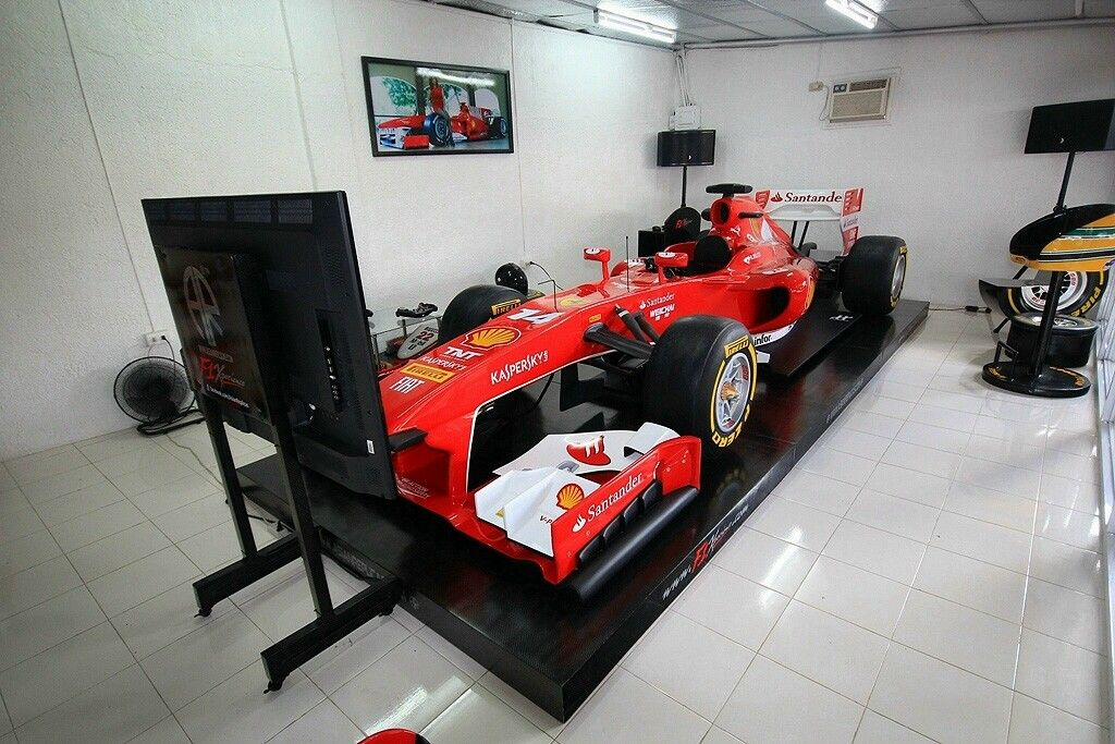 F1 Full Size Show Car F1 Simulator Simulador Pinterest