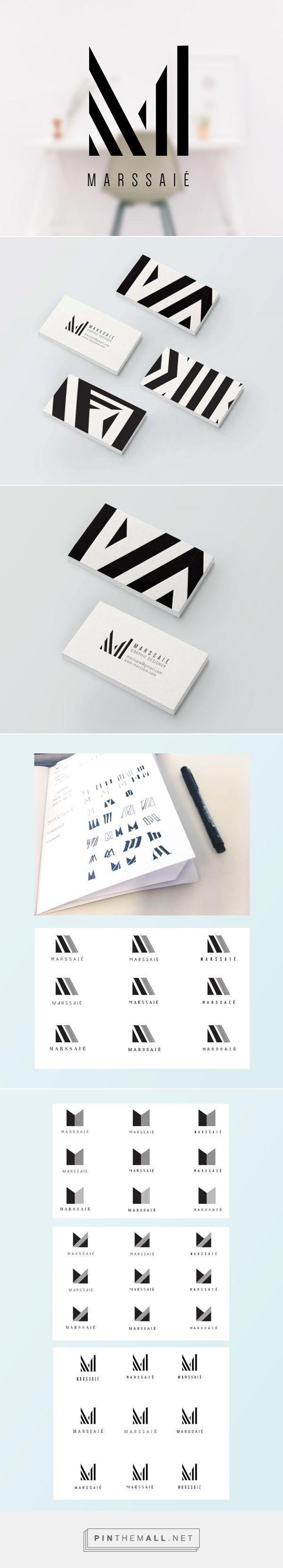 Marssaié personal identity Graphic designer visual