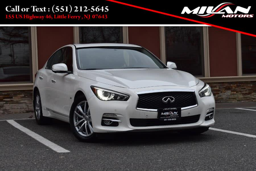 2016 Infiniti Q50 4dr Sdn 3 0t Premium Awd Available For Sale In Little Ferry New Jersey Milan Motors Little Ferr In 2020 Infiniti Q50 Infiniti 2016 Infiniti Q50