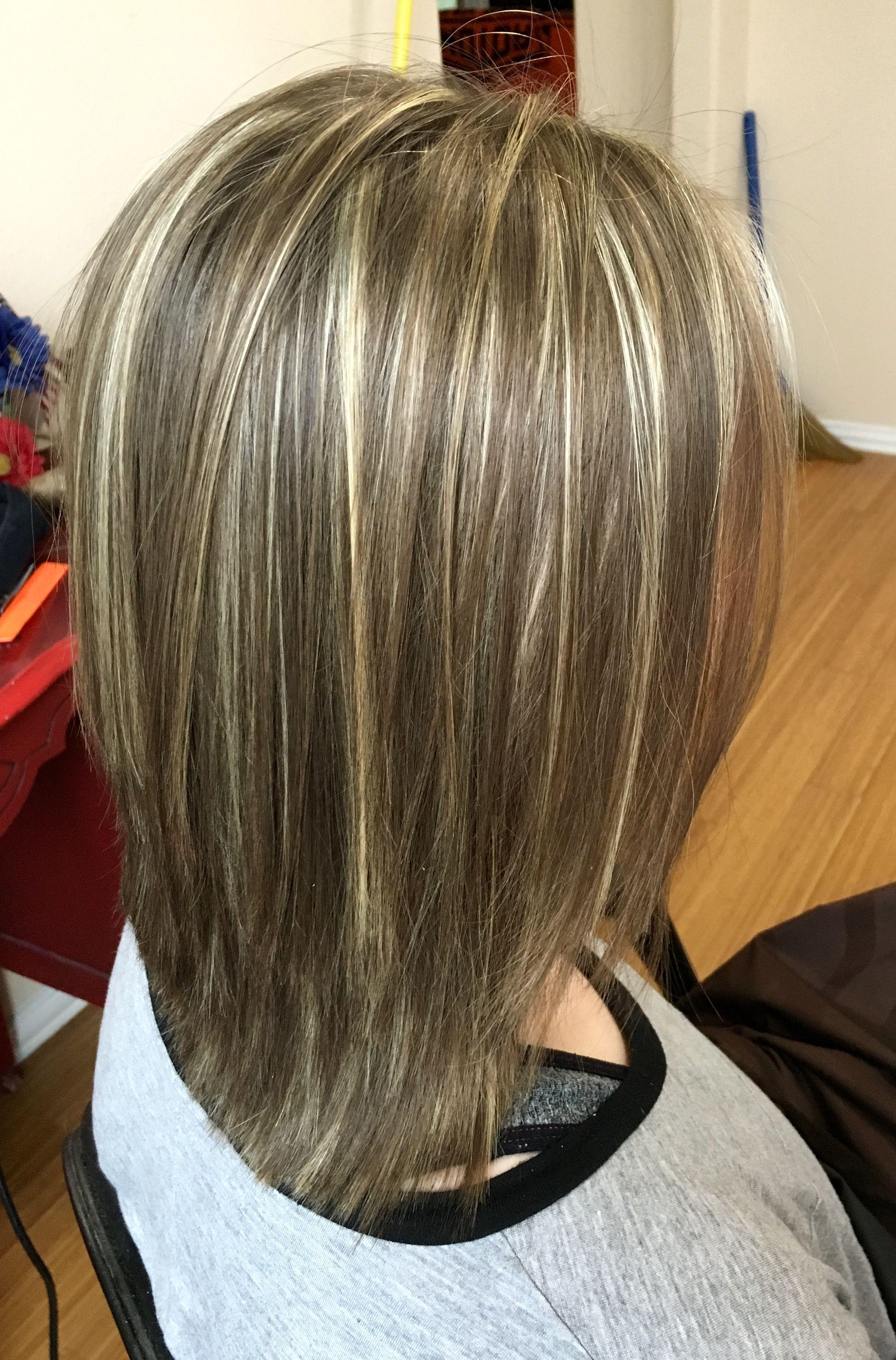highlights and lowlights  medium short hair hair makeup