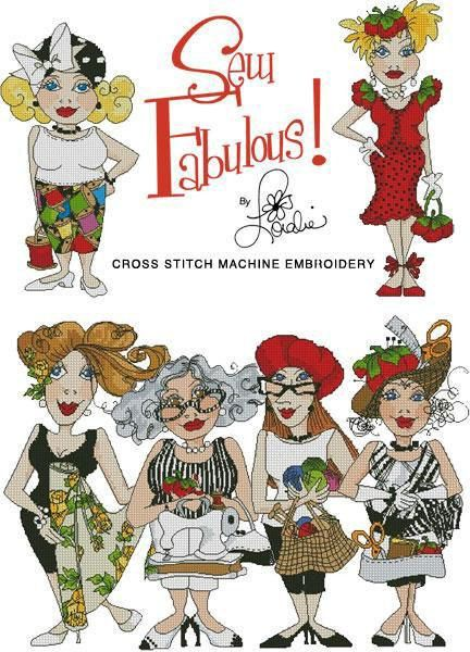 Sew Fabulous Cross Stitch Embroidery Design By Loraliedesigns