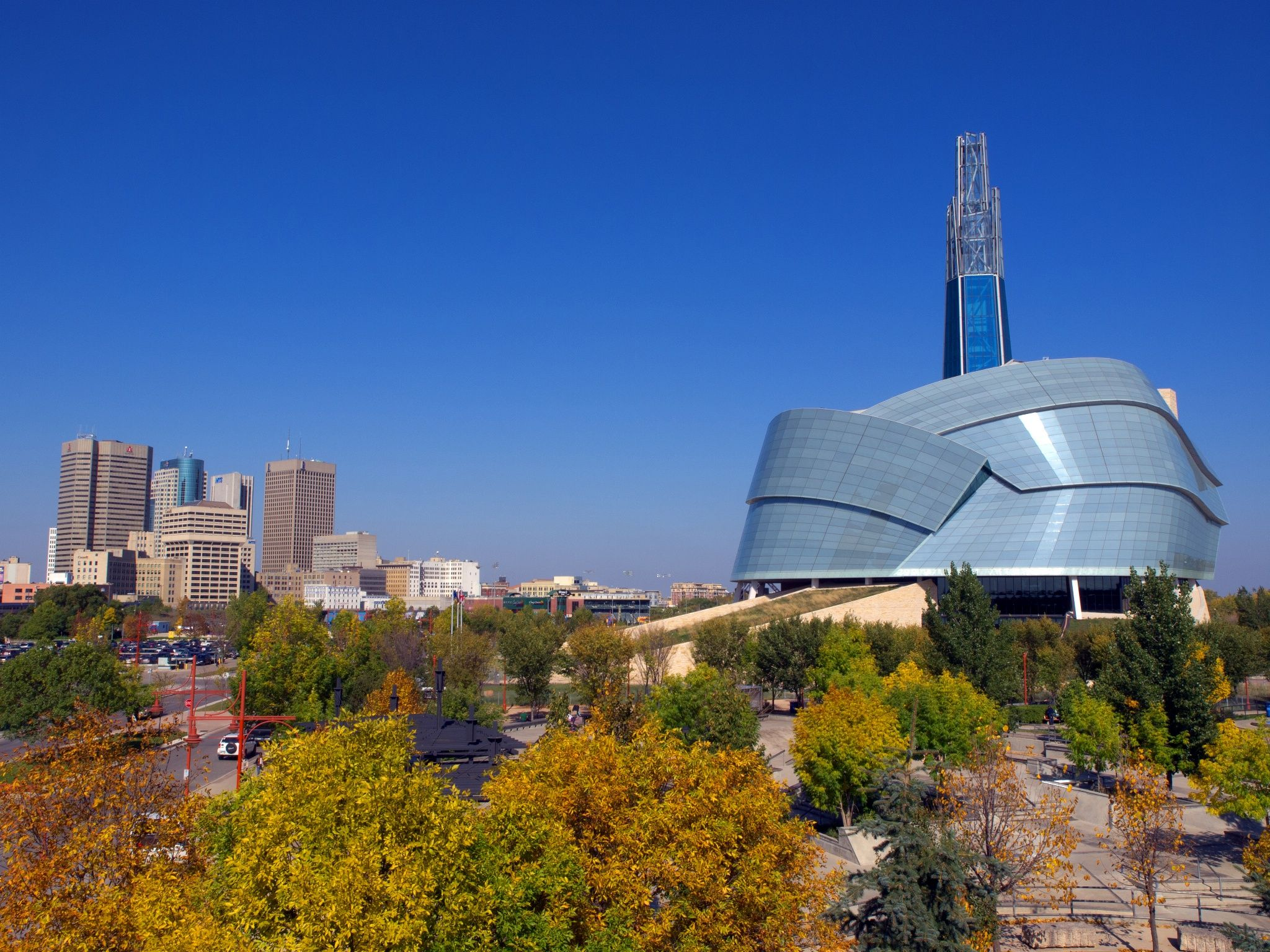winnipeg and the canadian museum for human rights by nick