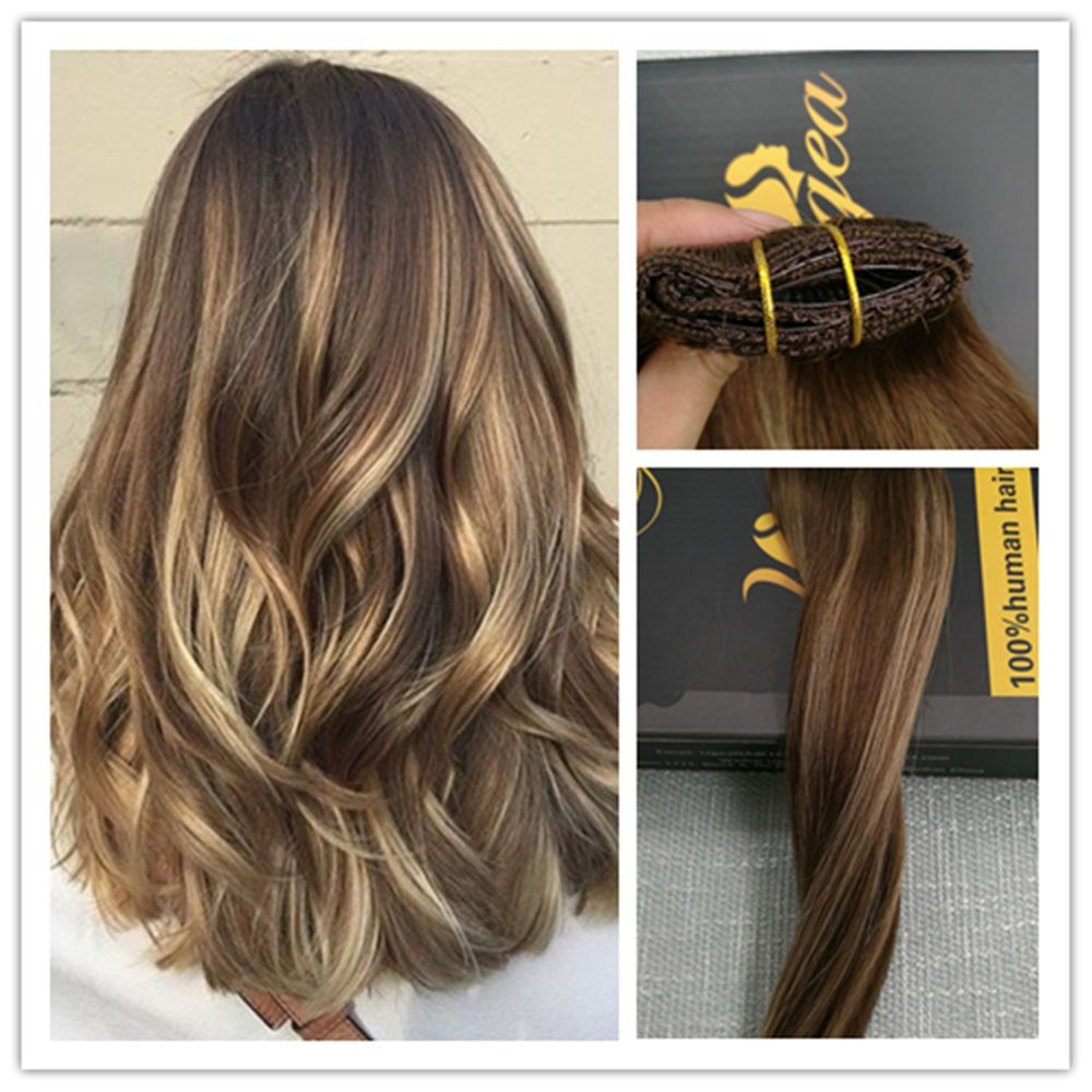 6a balayage 100 remy silky one piece clip in human hair 6a balayage 100 remy silky one piece clip in human hair extensions brown blonde pmusecretfo Gallery