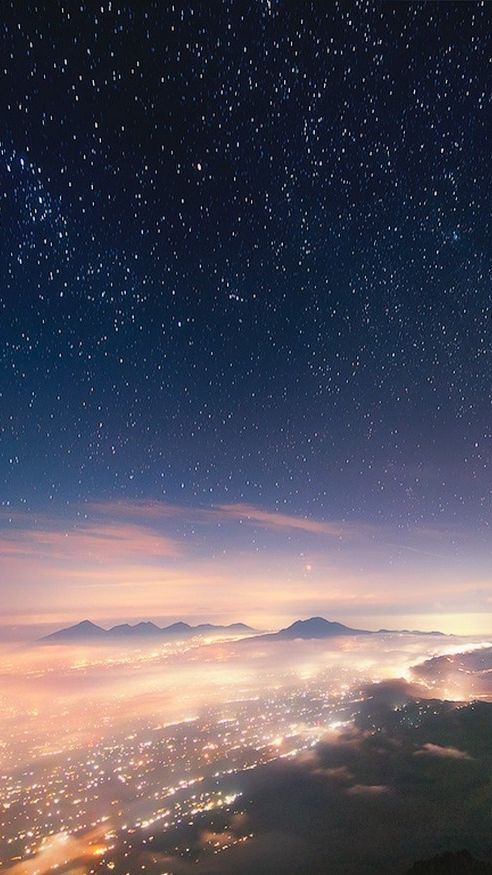 Bali Indonesia Night View From Mountain Iphone Wallpaper Check More At Http Iphoneswallpapers Co Scenery Wallpaper Anime Wallpaper Iphone Night Sky Wallpaper