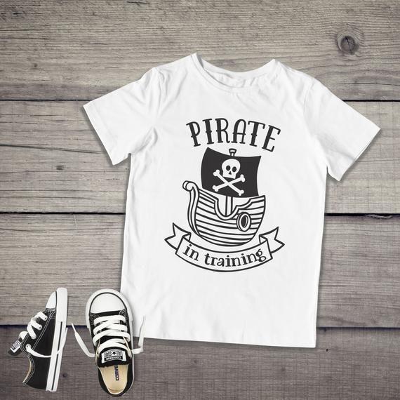 Pirate In Training Shirt