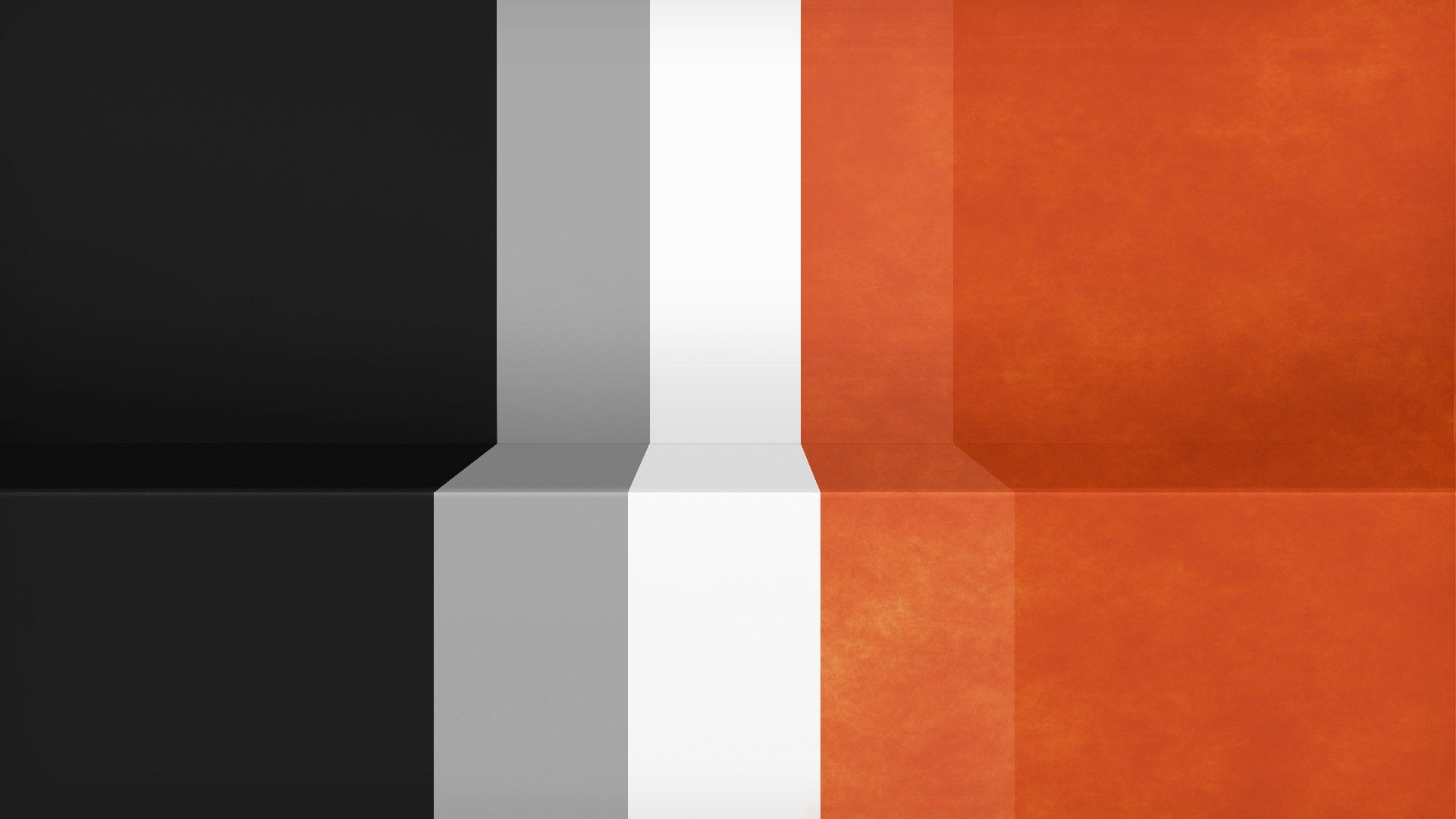 Abstract black minimalistic white orange gray textures lines racing