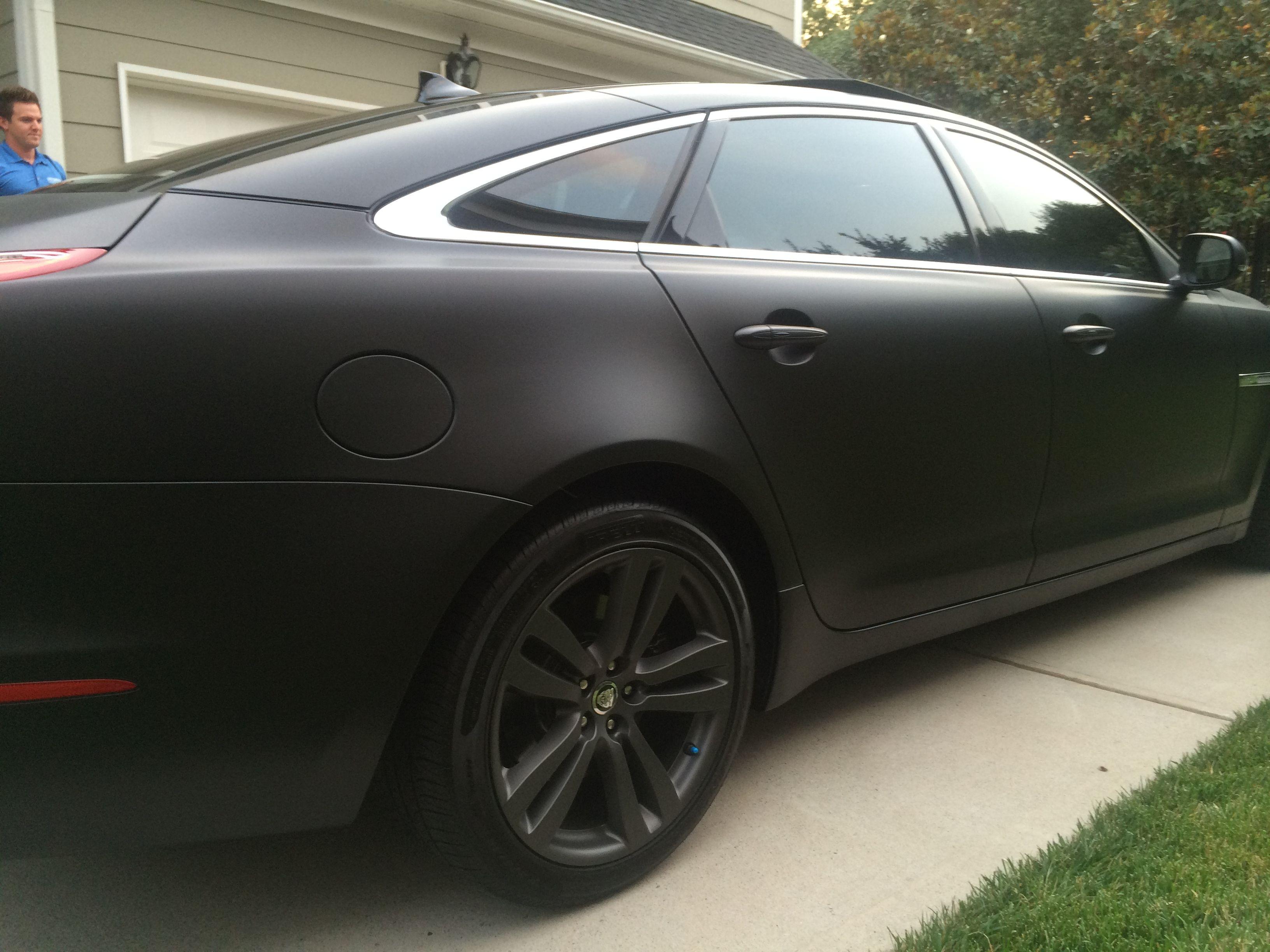 Had My Wheels And Body Plasti Dip Parsley S Black Matte Car