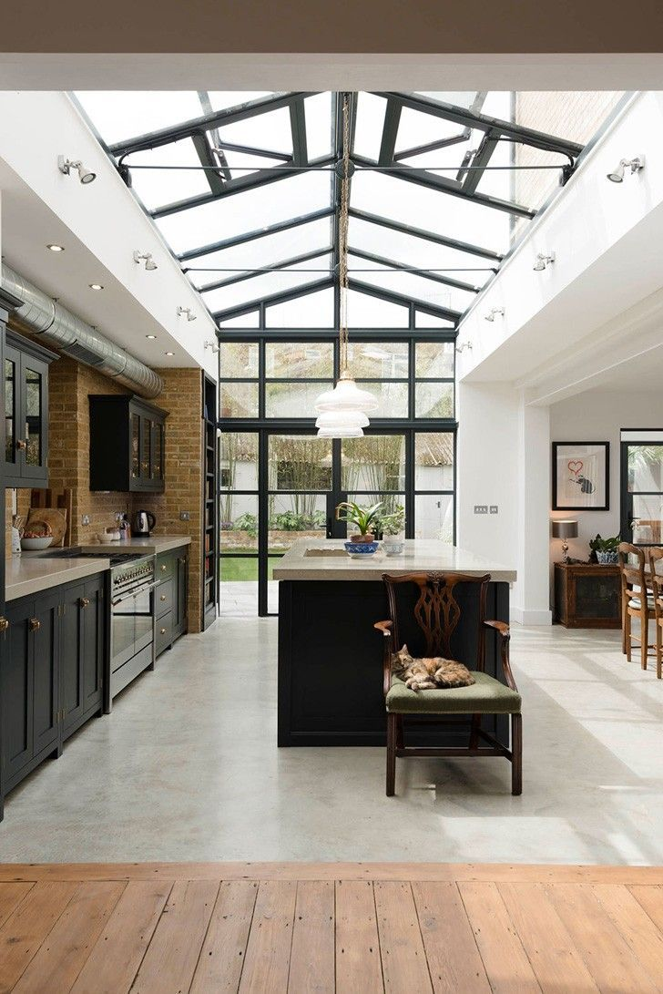Photo of 〚 London kitchen flooded with light 〛  Photos  Ideas  Des