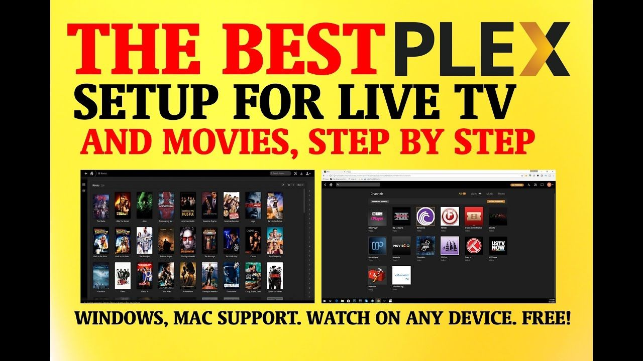 THE BEST PLEX SETUP FOR LIVE TV & MOVIES - STEP BY STEP TUTORIAL | 5