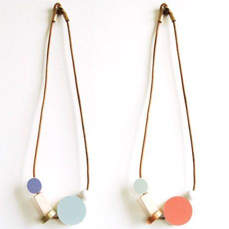 Http Poketo Com Shop Accessories Color Block Pendant Sieraden Juwelen Keramiek