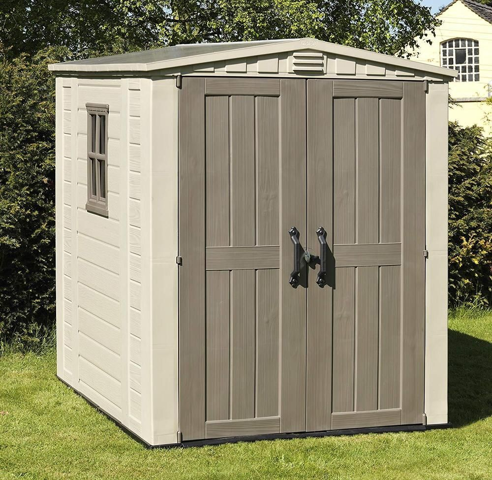 Plastic Garden Storage Shed Outdoor Tools Bikes Furniture