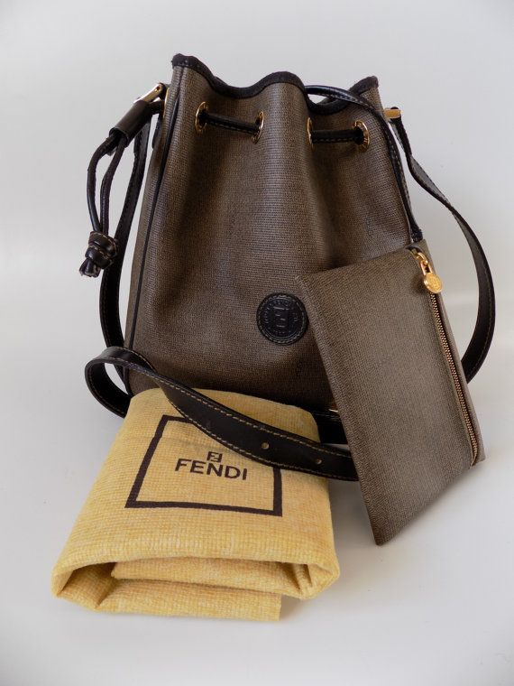3022c6497523 ... closeout bucket bags fendi fendi vintage brown black shoulder crossbody  by sophiashop123 d548f 1fe26