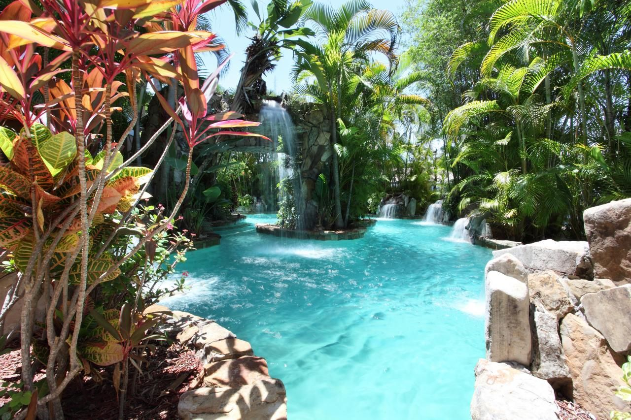 Lagoon Style Pool Designs five design elements for creating your dream tulsa in ground pool This Private Lagoon Style Swimming Pool Includes Waterfalls And A Peaceful Grotto Area