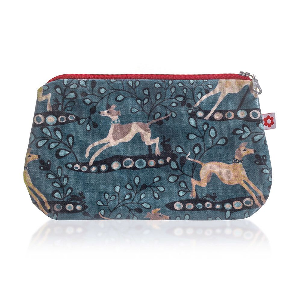 Whippet Oilcloth Purse by Susie Faulks / Make Up Purse / Oilcloth / Waterproof lining / Made in England by susiefaulksdesigns on Etsy https://www.etsy.com/listing/233119640/whippet-oilcloth-purse-by-susie-faulks
