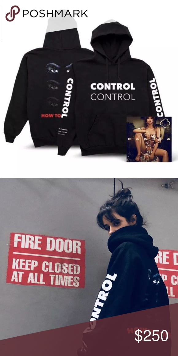 Camila Cabello She Loves Control Hoodie Xl Rare Up For Sale Is A Gently Used Worn Only A Few Times Xl She Loves Control Hoodi Hoodies Camila Cabello Love Her