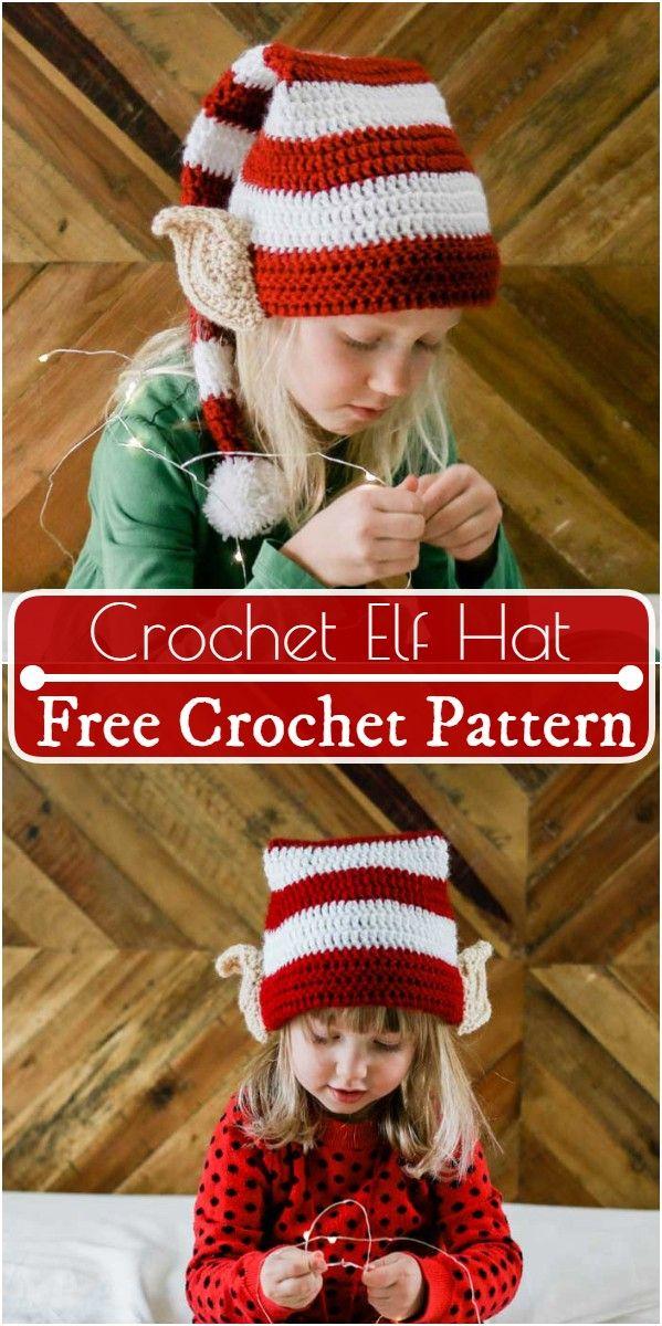 Free Crochet Christmas Hat Patterns New,Free Crochet Elf Hat Pattern crochetchristmaspatternsornaments#crochetchristmaspatternsgiftideas#crochetchristmaspatternsfreesimple #crochethatpatterns