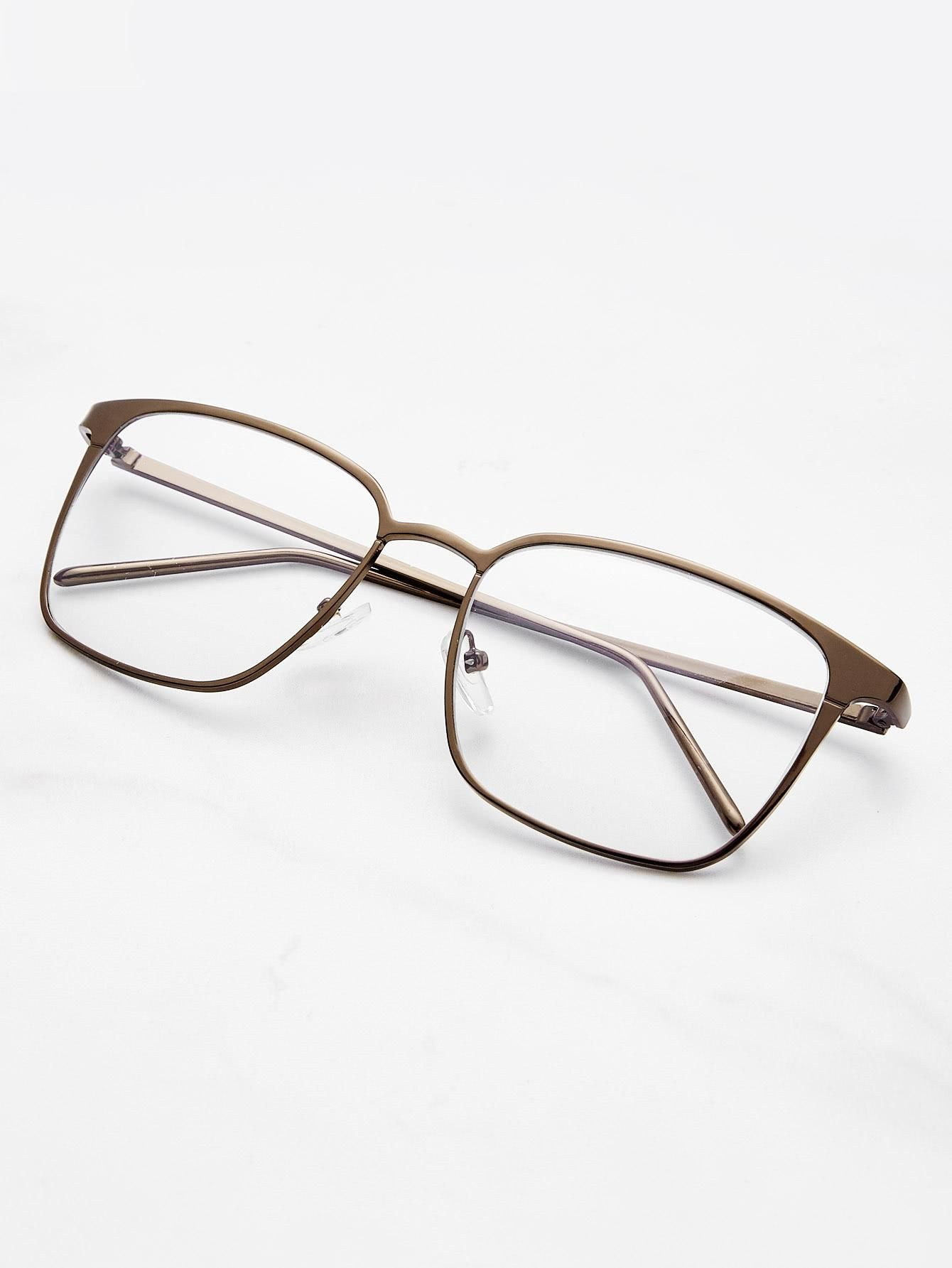 Skinny Frame Square Glasses | Romwe, Skinny and Squares