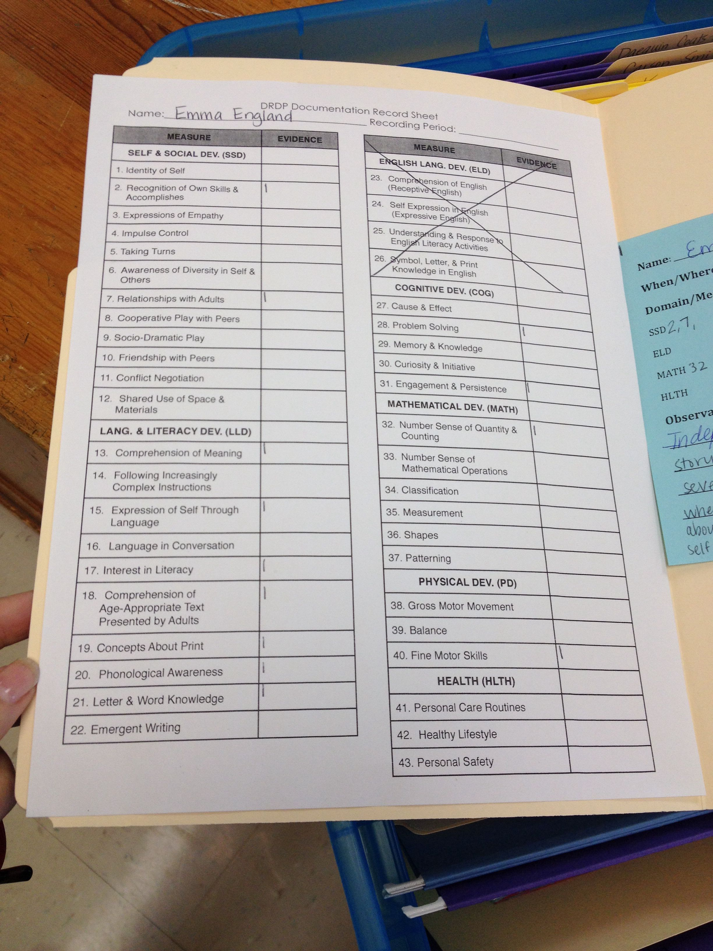 Another Quick Way To Track Individual Students Progress