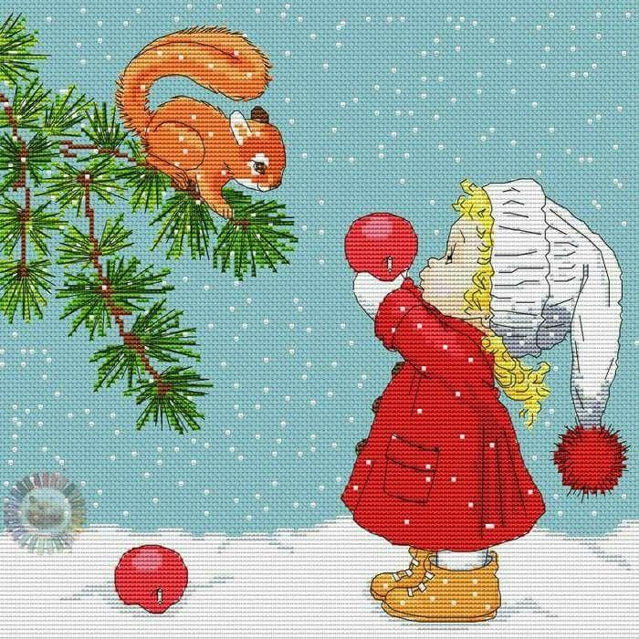 Pin de mariadelmar aliag en bordado navideño moderno   Pinterest ...