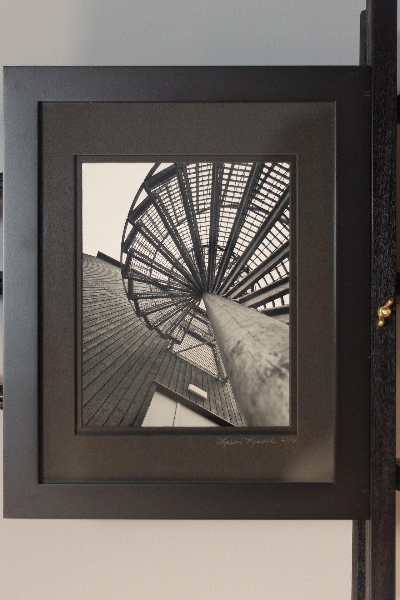 Best Longyearbyen Spiral Staircase Framed Fine Art Print 640 x 480