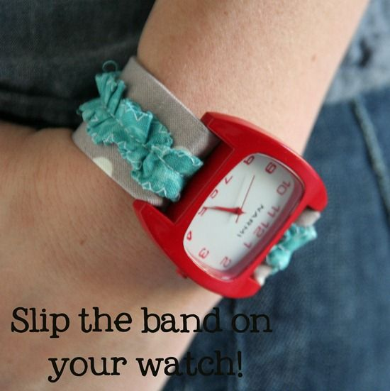 Fabric Watch Bands Diy Watch Band Watch Bands Interchangeable