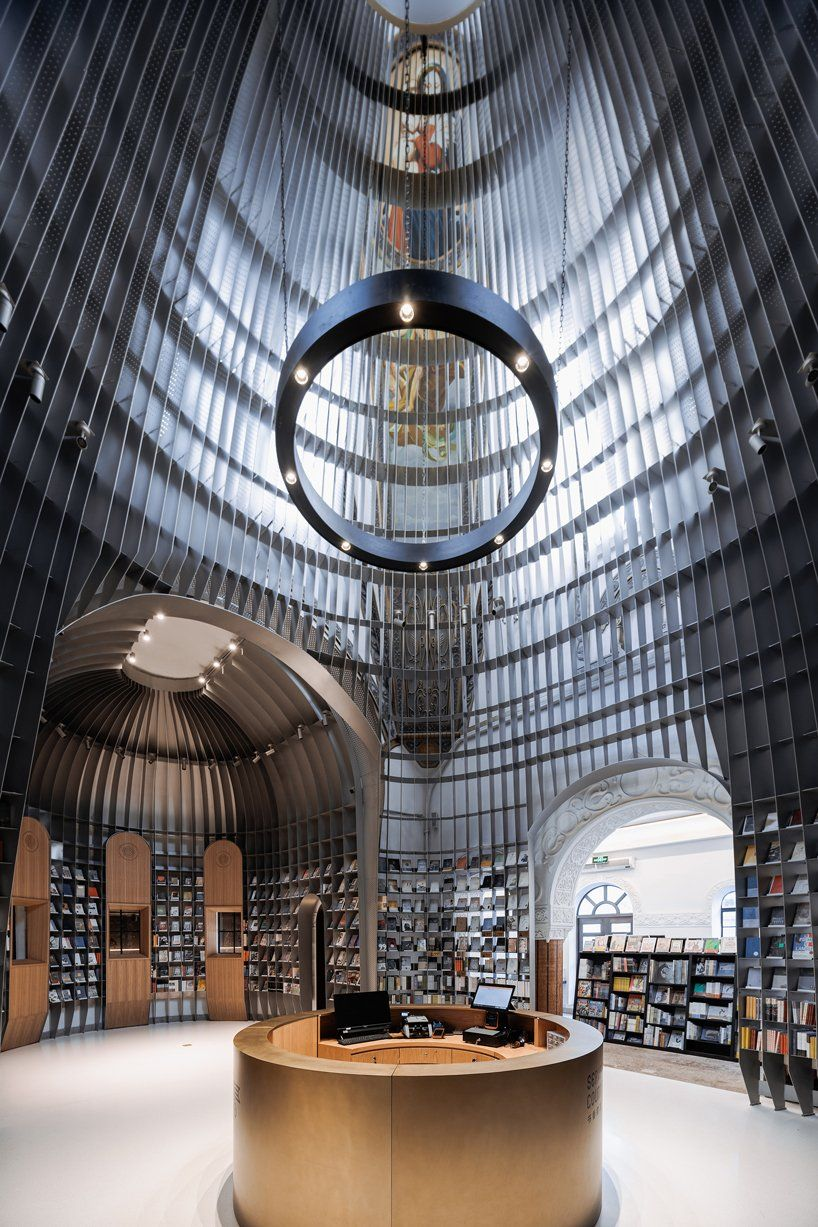 Wutpoia Lab Builds A Church In A Church For Sinan Books Poetry Store In Shanghai Architecture Chief Architect Shanghai