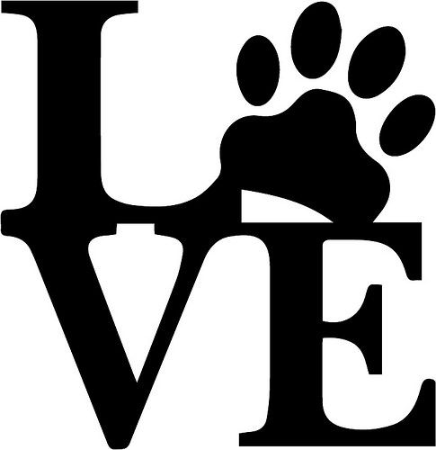 puppy love cricut craft and stenciling rh pinterest com free puppy love clipart Cute Puppy Clip Art Free