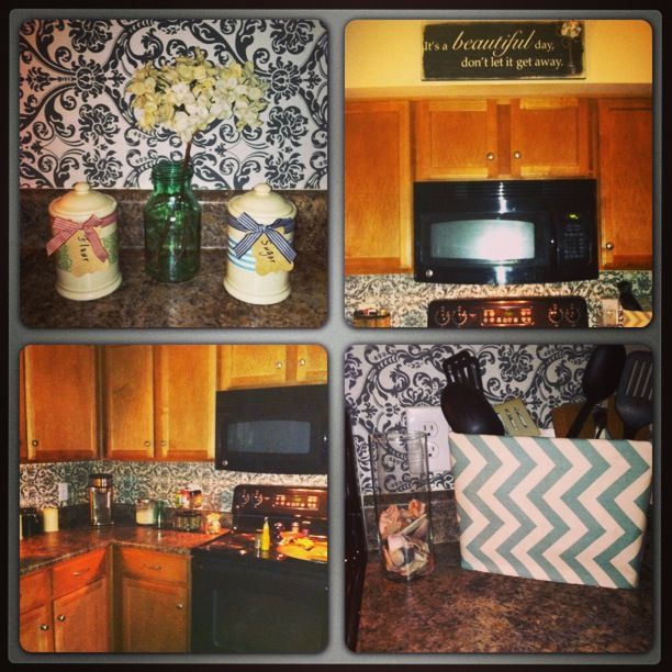 DIY Apartment Kitchen Makeover