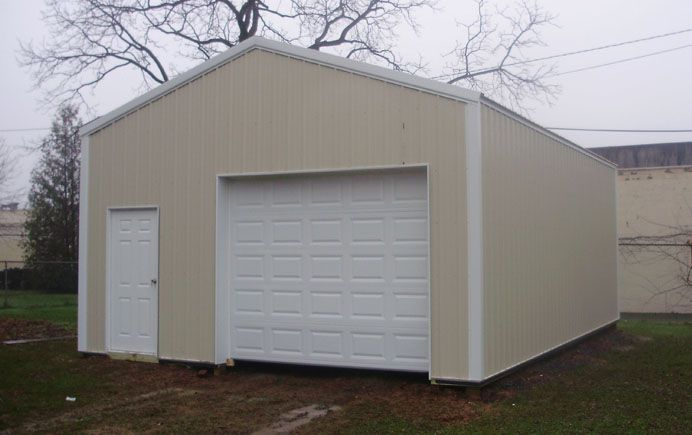 20 W X 30 L X 10 4 H Id 288 Total Cost 9 770 Pole Barn Homes Pole Buildings Garage Design
